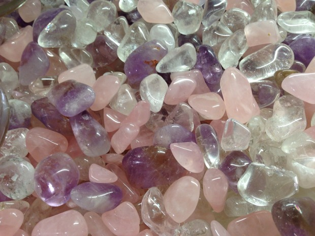 The Magick of Roses - Rose Quartz
